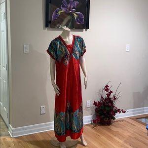 2 satin dresses